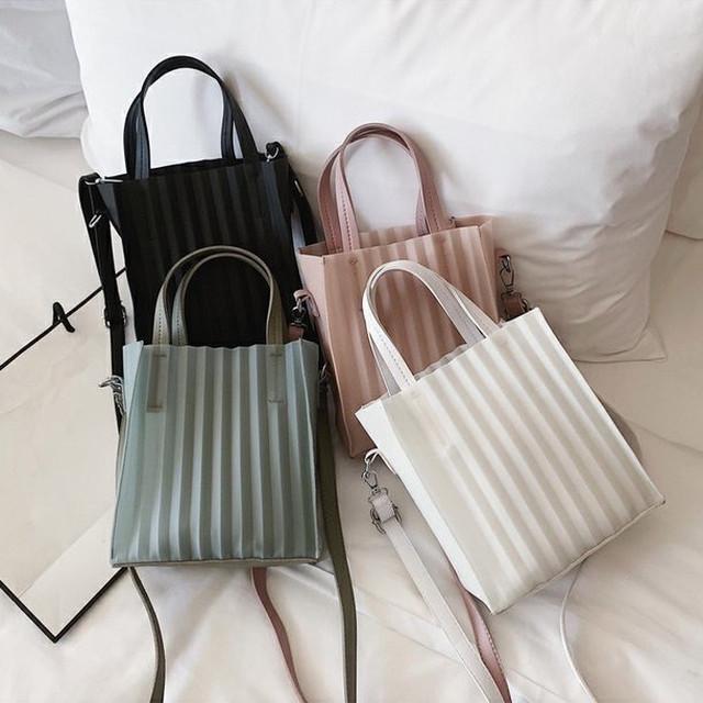 【即納あり】2wayプリーツバッグ◆お取寄せ商品◆