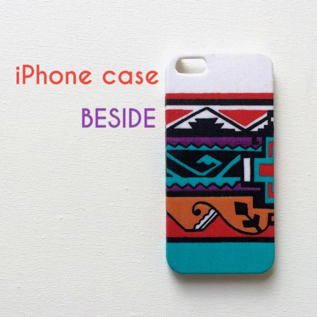iPhoneケース (USAビンテージ・ネイティブ)