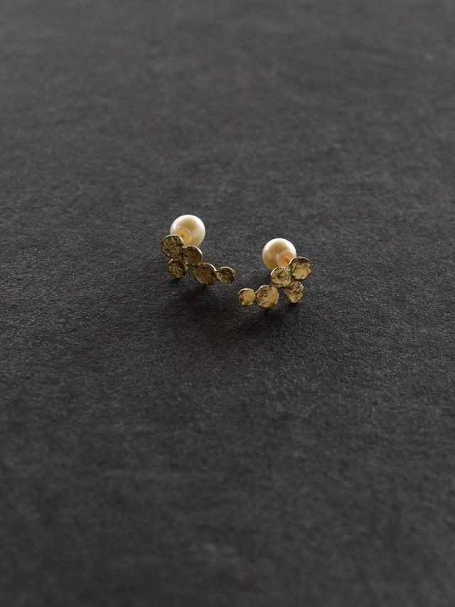 accessories mau|P-40 ぶどうピアス brass