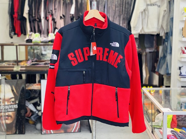 30%OFF Supreme 19SS THE NORTH FACE DENALI FLEECE JACKET RED SMALL 525ID3826