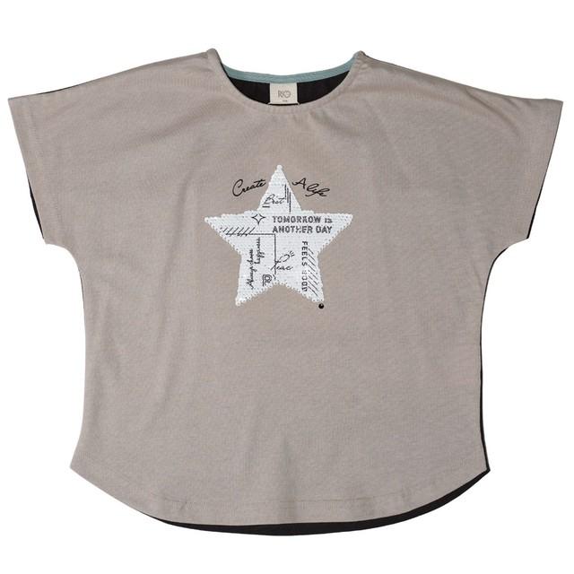 RIO ワンスターダブルスパンコールTシャツ