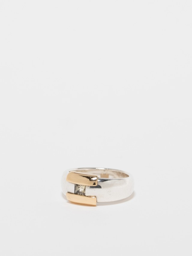 Colorless Saphire Ring / Hermès