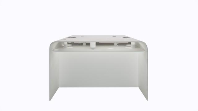 ターブル・ペルフォレ (白) - Table Perforée (White)--Width 1200mm