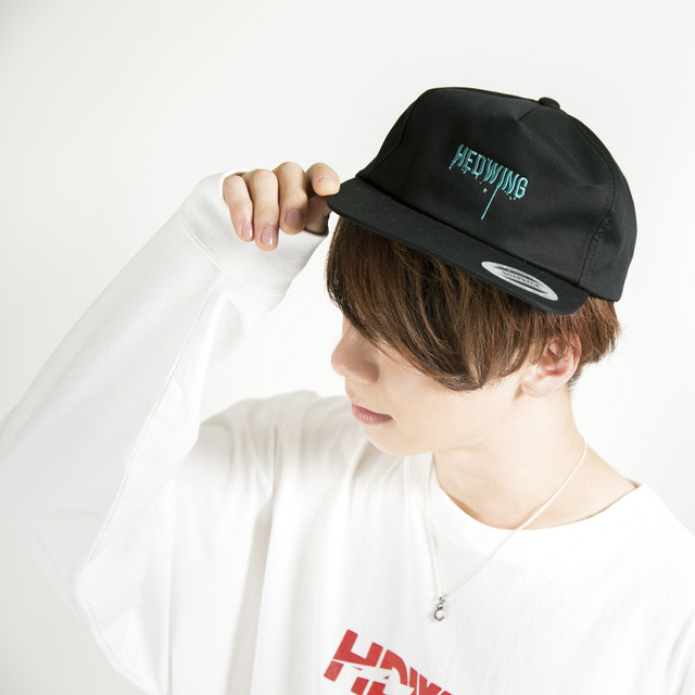 Dripping Logo Cap Black/Green