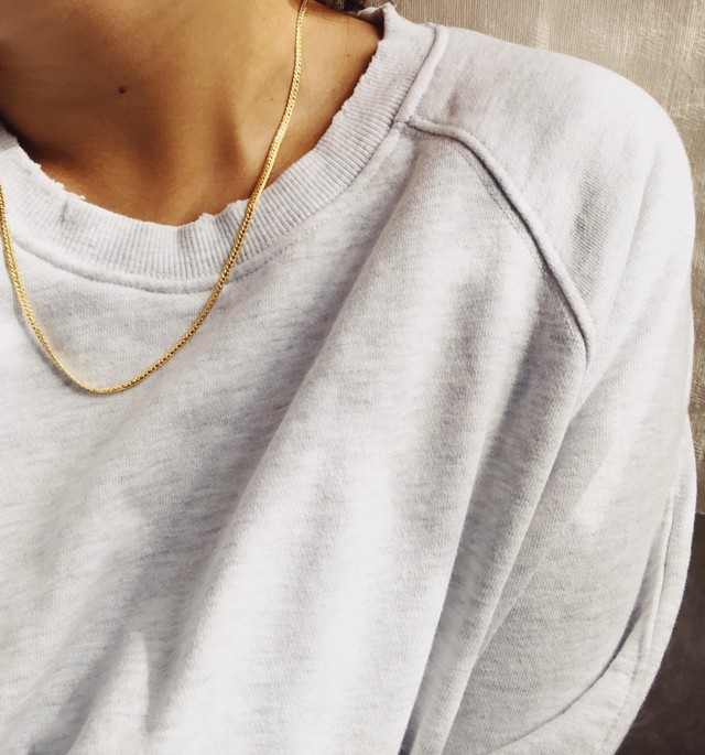 Snake Chain Necklace スネークチェーンネックレス