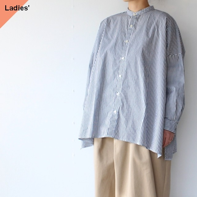 SETTO セット FARMS SHIRT(STRIPE)