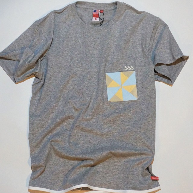 UUU. -Ninja Pocket T-Shirt(GRAY)