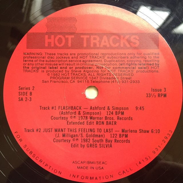 Various– Hot Tracks