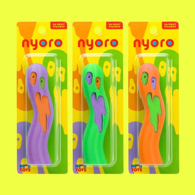 『nyoro』 3D PRINT SERIES