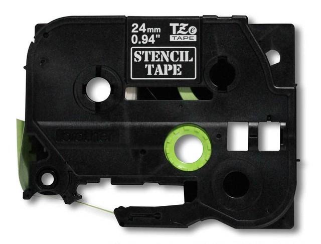 エッチングマシン用ステンシルテープ 36mm P-TOUCH TZe-TAPE ブラザー純正 国内未発売