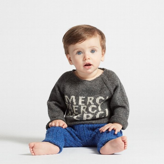 Oeuf Merci Sweater ( 4Y.6Y)