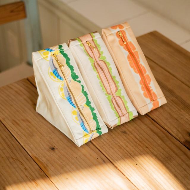 三角のサンドイッチポーチ ver.3