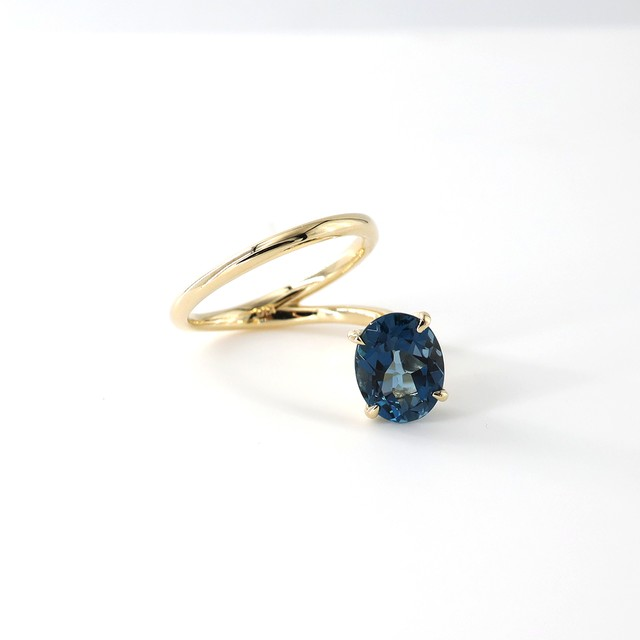 <New>Island Oval Ring