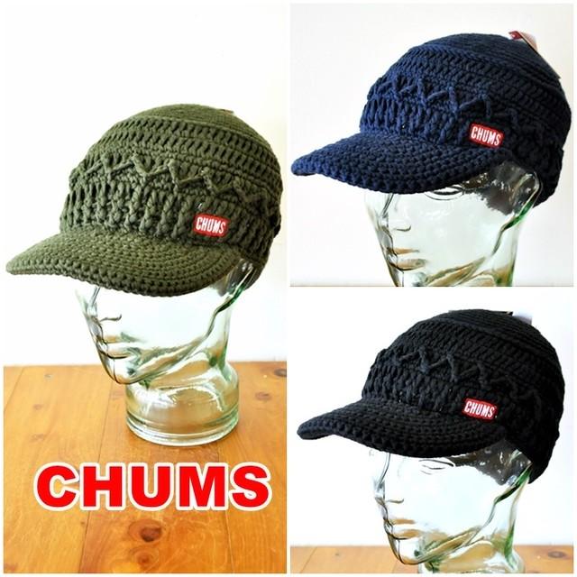 CHUMS  チャムス ワークニットキャップ ch05-1215  男女兼用 帽子  WORK KNIT CAP