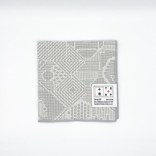 十布 福島の刺子織|ハンカチ