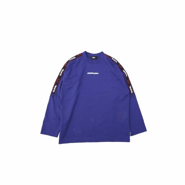 【10%OFF】MYne × BADBOY L/S T-shirt / BLUE - メイン画像