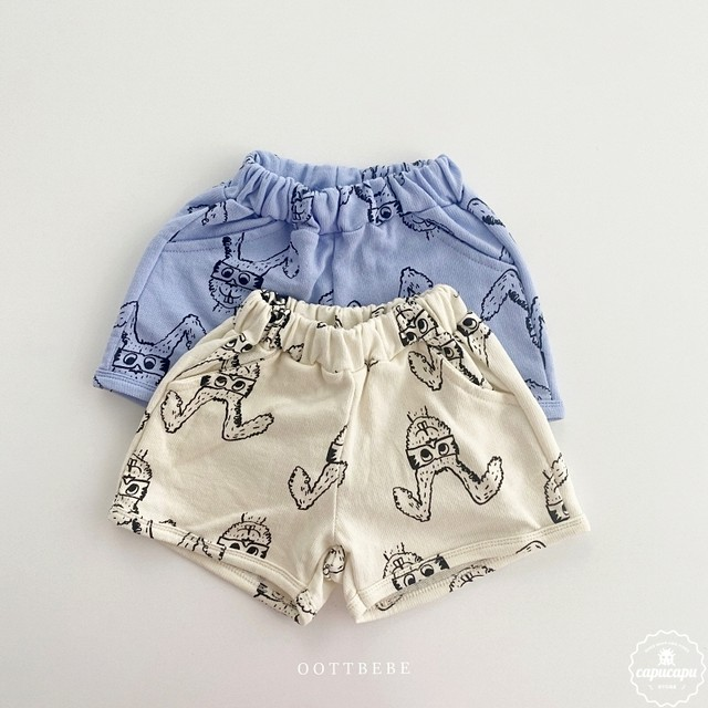 «sold out»  Rabbit shorts 2colors うさぎショートパンツ