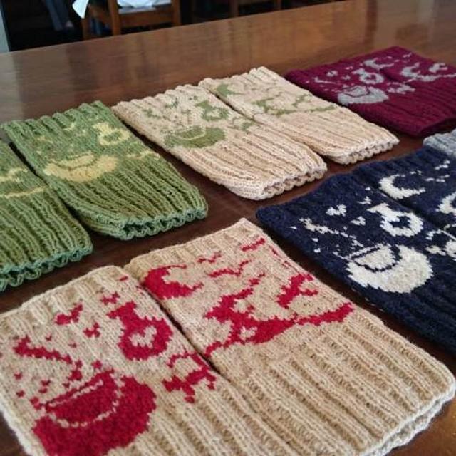(糸のみ)魔女のフィンガーレス 編み物キット byコリドーニッティング