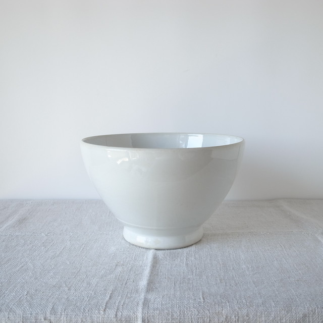 ARABIA / white bowl (L)