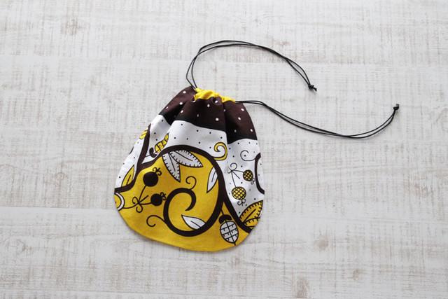 カンガの巾着|お弁当袋 / インナーバック