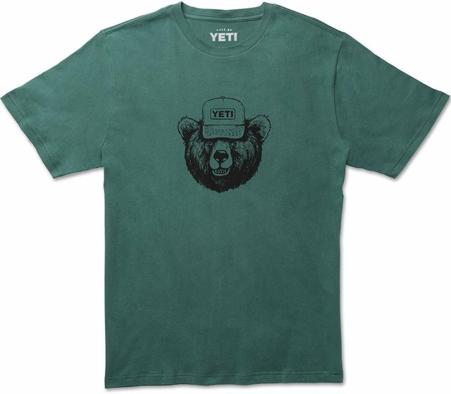 ■YETI  Den Dweller T-Shirt Forest Green
