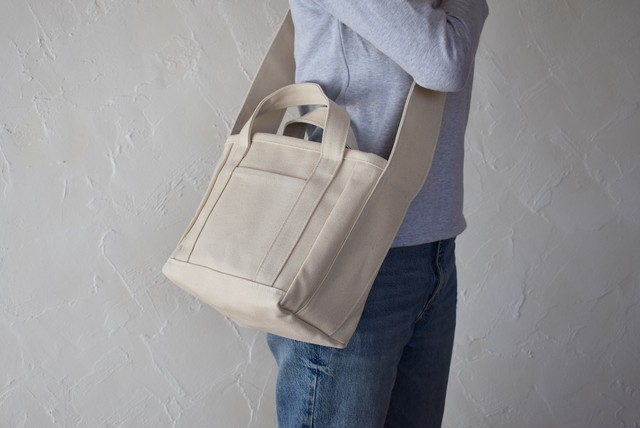 PARK ZUCC SHOULDER TOTE BAG (キナリ)
