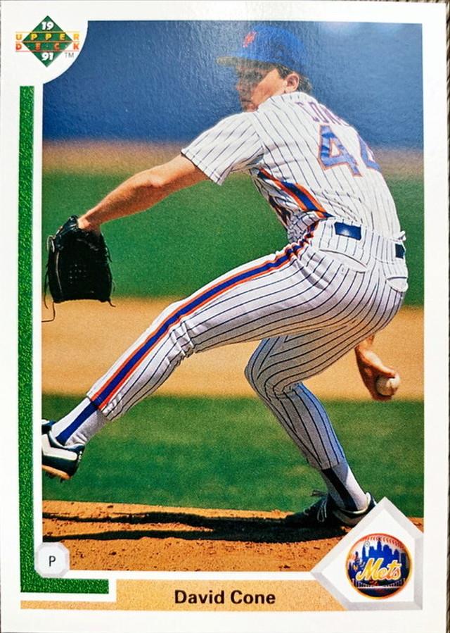 MLBカード 91UPPERDECK David Cone #366 METS