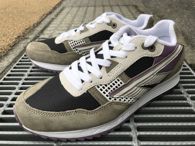 HI-TEC HTS BADWATER 146 ABC SUEDE (TAN/BLACK/PURPLE)