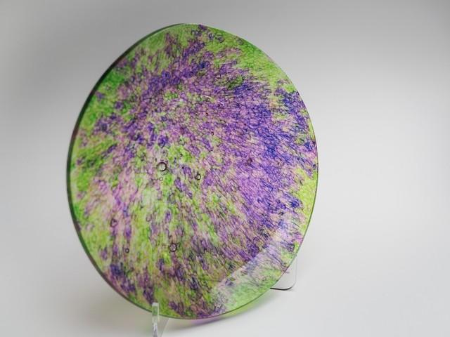 平皿-CL(紫×緑)fp-cl-6