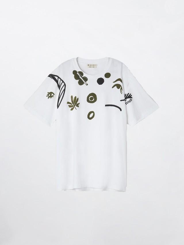 MARNI T-Shirt(S22763) White HUMU0141P0