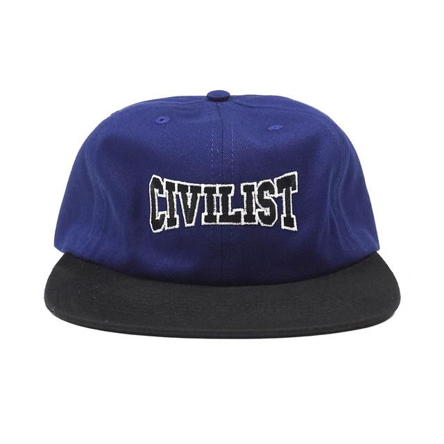 CIVILIST CLUB CAP NAVY/BLACK