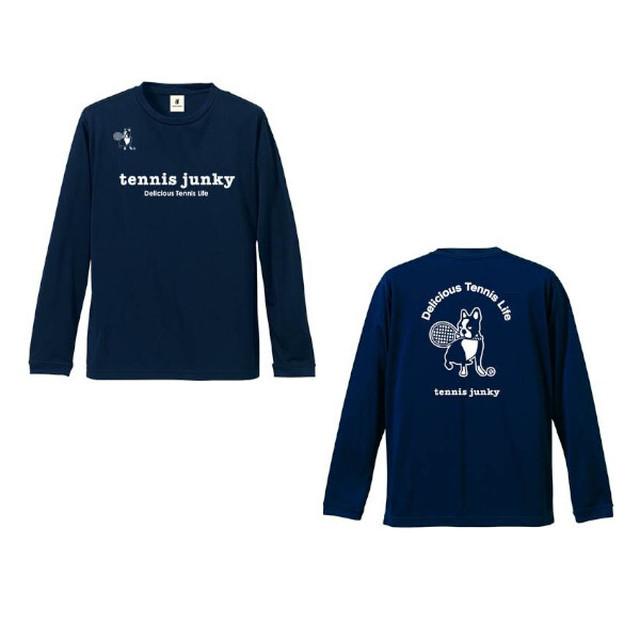 40-0 長袖Tシャツ(TJ19518)/ネイビー(21)・ブラック(2)・ブルー(57)・イエロー(27)・ホワイト(1)
