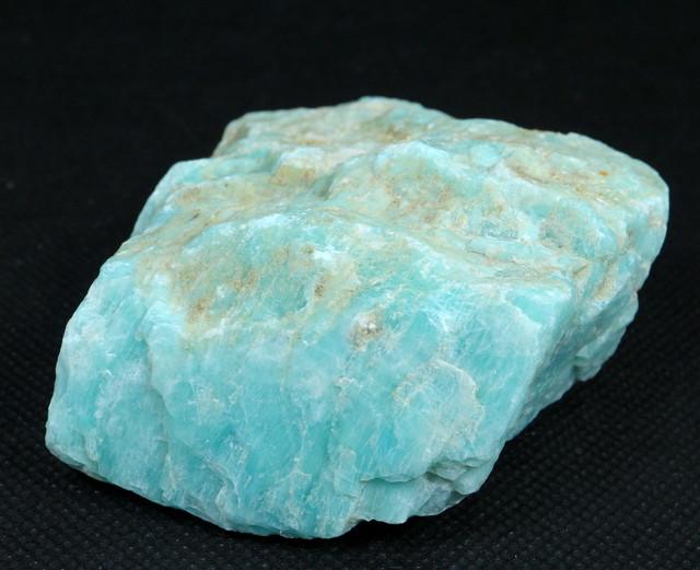 アマゾナイト カナダ産 原石 216,2g AZ0034 天河石(てんがせき) 鉱物 天然石
