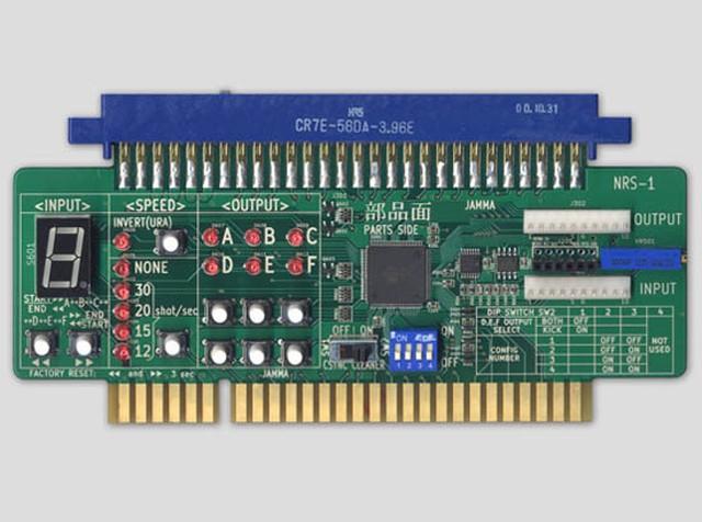 NRS-1 高機能シンクロ連射/ボタン再配置/同時押し基板