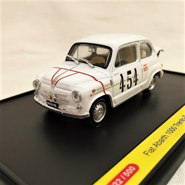 Fiat Abarth 1000 Trento-Bondone 1964 Arturo Merzario brumm 1/43【1個のみ】【税込価格】