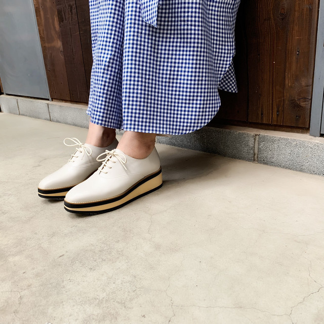 Platform Lace UP Shoes|アツゾコレースアップシューズ_#ot1111s|【Ought=na】|madeinjapan|日本製