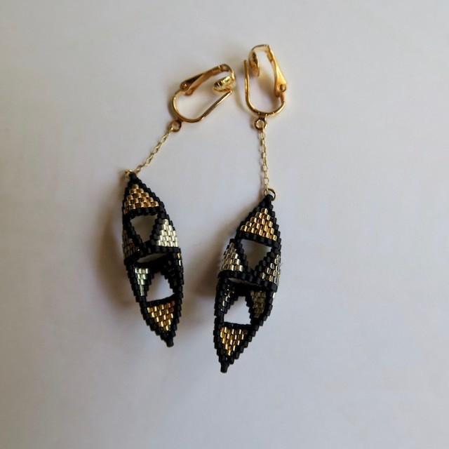 Myn da Roca gold × silver earring