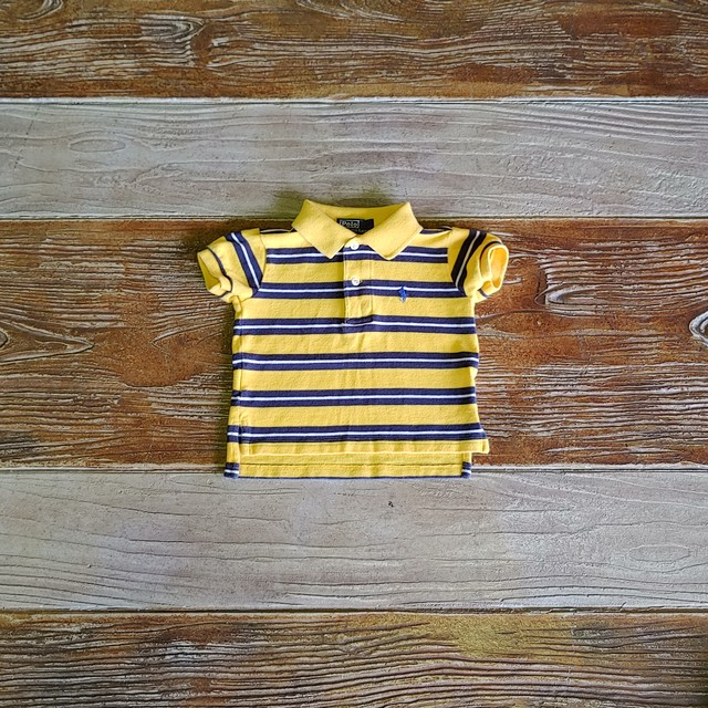 【BABY USED】Polo Ralph Lauren Polo shirt*9M