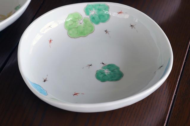 藍水 メダカ 盛鉢 うつわ藍水(波佐見焼)
