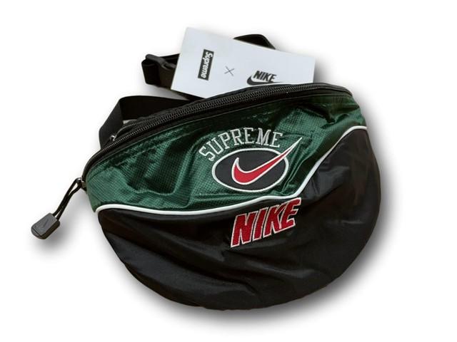 NIKE Supreme SHOULDER BAG GREEN 80JL1558