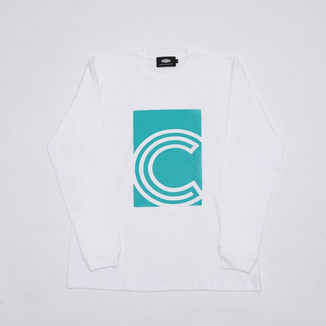 CRATE SIMPLE LOGO L/S T-SHIRTS BEIGE