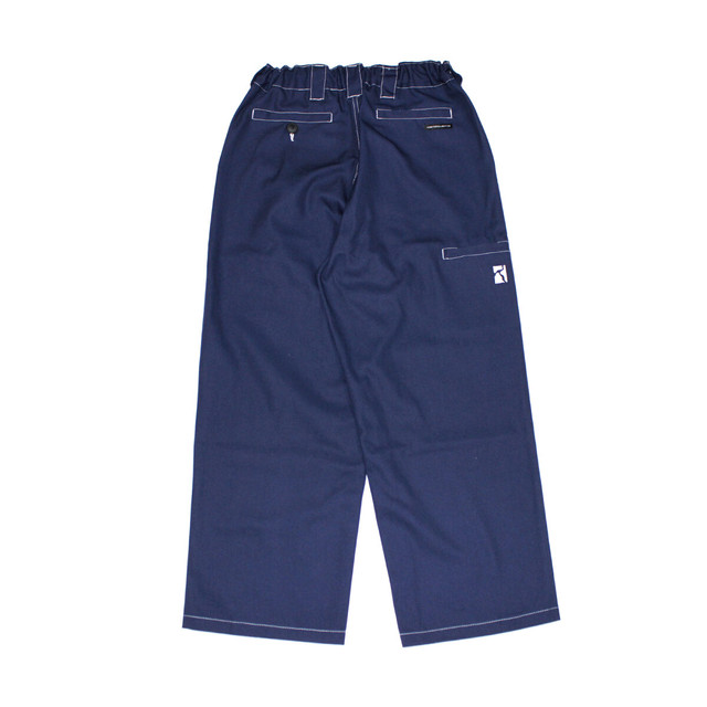 POETIC COLLECTIVE PAINTER PANTS NAVY / WHITE