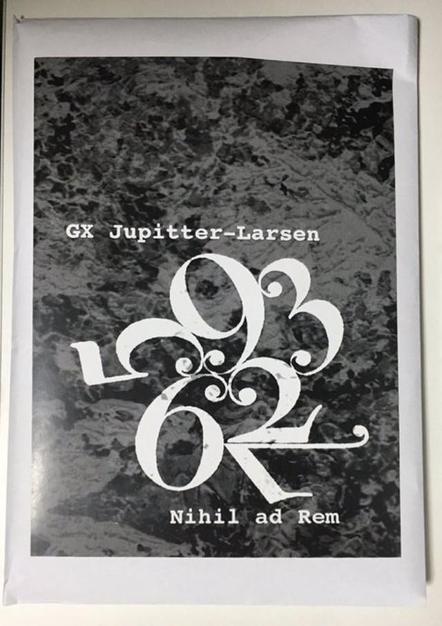 GX Jupiter-Larsen - Nihil ad Rem(4FD)