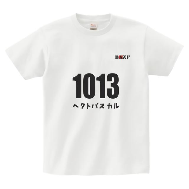 ヘクトパスカル ヘビーウェイトTシャツ(白)