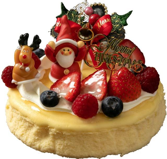 【店頭お渡しのみ】【送料無料】クリスマスケーキ ガトーショコラ 4号(12㎝)