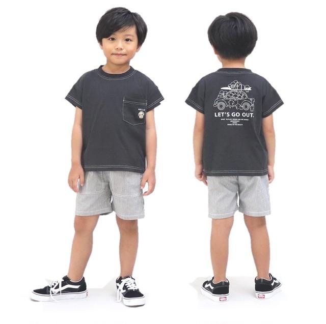 RIO ドロップショルダーバックPT Tシャツ
