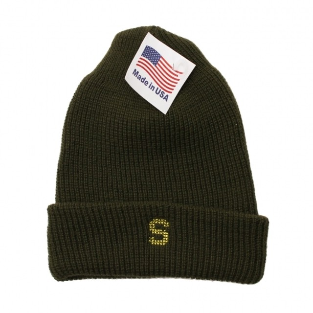 S LOGO WATCH CAP #O.D