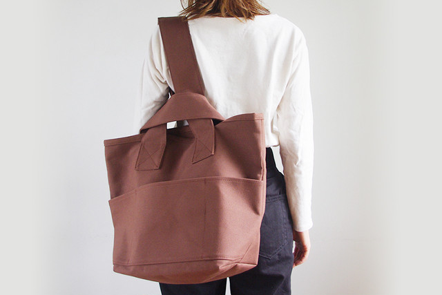 CLOUCHY SHOULDER BAG (オールコーヒー)