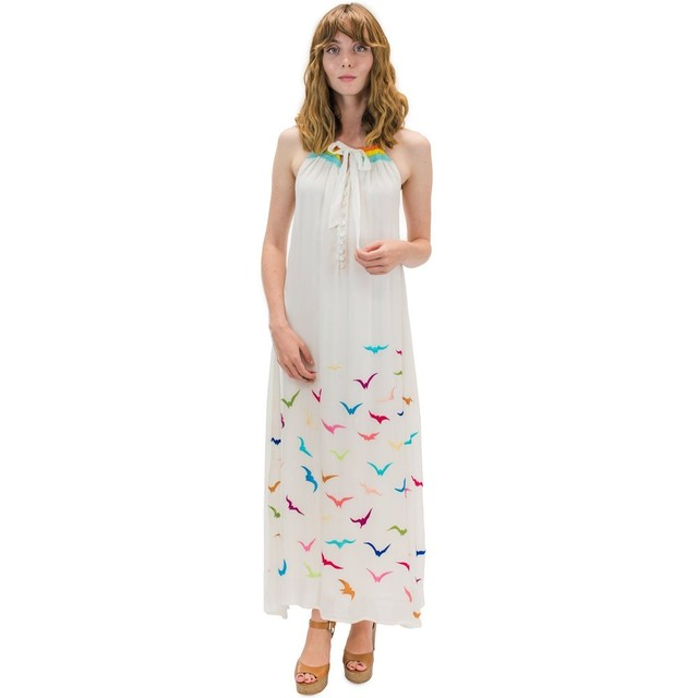 Angels by the sea/ Manu Long Dress