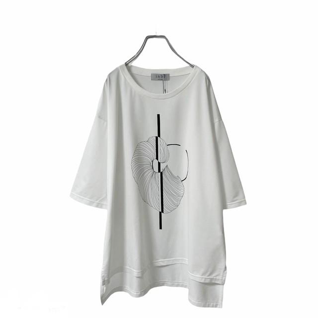 Basic-T-shirts  (white/inbi gp3)
